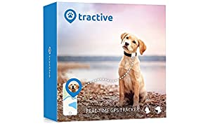 Tractive GPS Tracker for Dogs and Cats - waterproof pet finder collar attachment