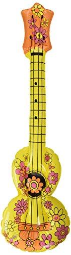 Preisvergleich Produktbild Aufblasbare Hippie-Gitarre 80 cm