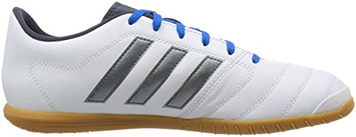 adidas Herren Gloro 16.2 Indoor Fußballschuhe Multicolore (Ftwwht/Ngtmet/Utiblu)