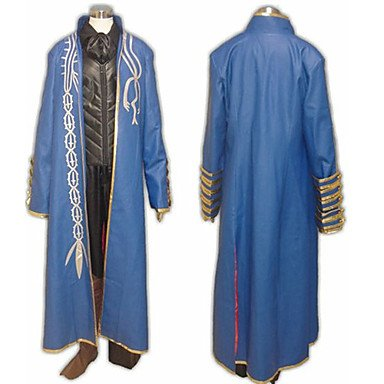 SUNKEE Devil May Cry 3 Vergil cosplay Kostüm -