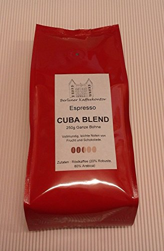 Berliner Kaffeekontor Espresso No. 4 Cuba Blend - 250g Bohne