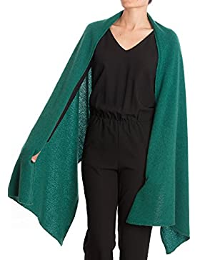 Dalle Piane Cashmere–Wrap 100% cachemira–Mujer