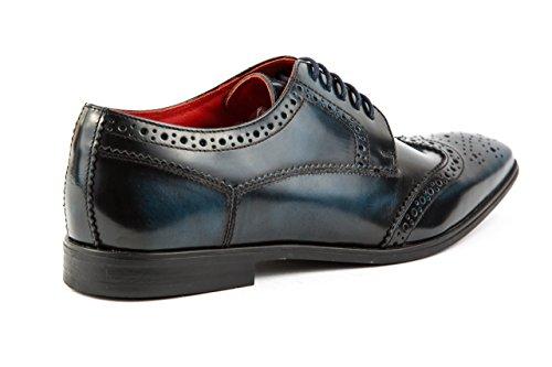 Schuhe 42 Herren Budapester Base Base Blau London London Business Gr qPwTvSx7