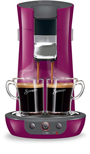 Senseo Viva Café HD7825/72 Freestanding Fully-auto Pod coffee machine 0.9L 6cups Violet coffee maker - coffee makers (Freestanding, Pod coffee machine, 0.9 L, Coffee pod, 1450 W, Violet)