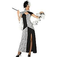 Atosa 18245–Cruella, para mujer Disfraz, tamaño XL, 42/44