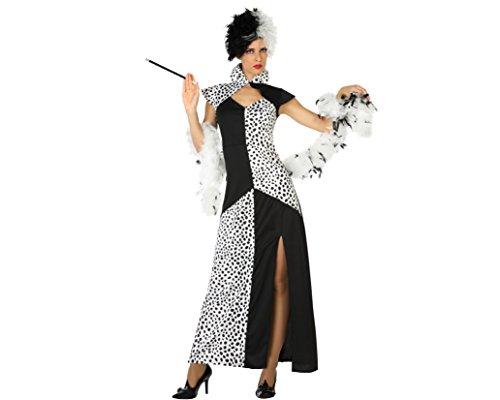 Atosa 18245 - Cruella, Damenkostüm, Größe XL, (Frau Kostüm Gefängnis)
