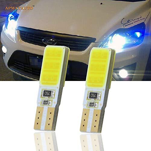 HANO 2X T10 W5W CANBUSSide Standlicht Begrenzungsleuchten Lampe für Ford Focus 2 3 4 1 C-Max Fusion: Weiß