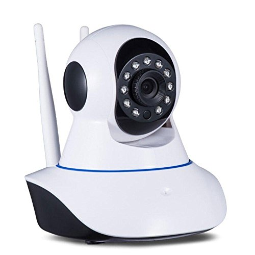 Gionee E7 Mini Compatible Certified Captcha Wireless HD IP Wifi CCTV indoor Security Camera  available at amazon for Rs.2999
