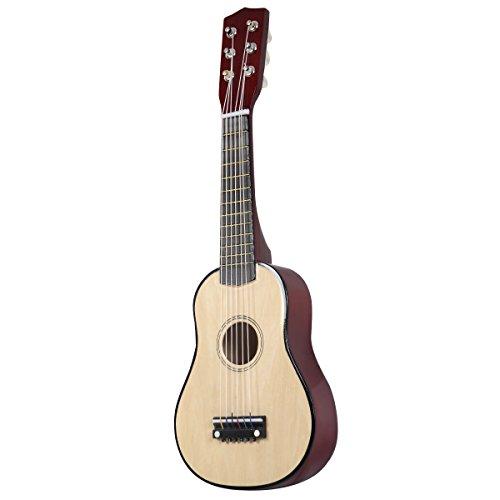 "Gitarre Kindergitarre Konzertgitarre Klassikgitarre Akustikgitarre 21"" geeignet für Anfänger Farbwahl (natur)"