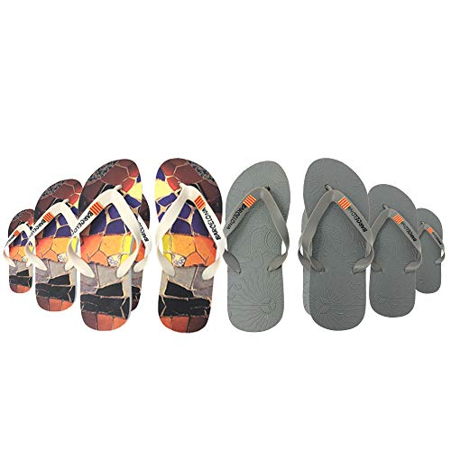 Pack Lote Chanclas Boda Hombre Mujer Barcelona 96