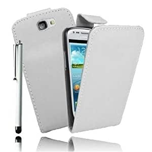 Etui Housse Luxe Blanc pour Samsung Galaxy Express + STYLET et 3 FILMS OFFERTS
