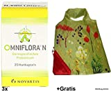 3x 20 Hartkapseln Omniflora N +Gratis Einkaufstasche zum Falten. Für den Darm