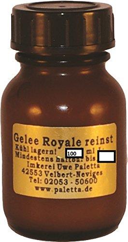 Palettas Gelee-Royale 100 ml pur 100% reiner Königinnenfuttersaft ohne Konservierungsstoffe