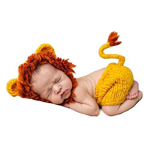 Kuss & Küsschen Babykostüm für Neugeborenenfotografie - Karneval Kostüm Babys