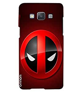 Omnam Superhero Mask Printed Designer Back Case Samsung Galaxy A5
