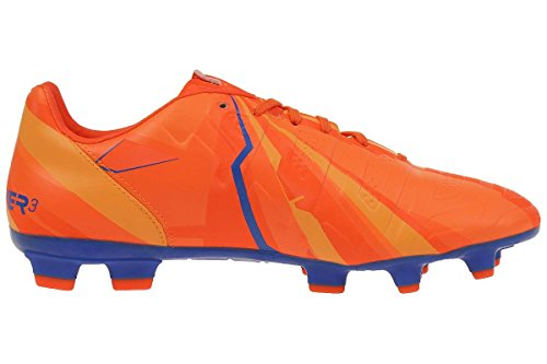 Puma Evopower 3-2 Fg, Chaussures de football homme orange / blau