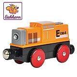 Eichhorn 100001306 - Bahn, Rangier E-Lok 11 cm, mit 4-Radantrieb und vier Funktionen, inkl....