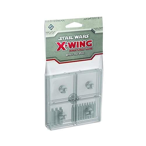Fantasy Flight Games Star Wars X-Wing Clear Bases and Pegs expansion Pack