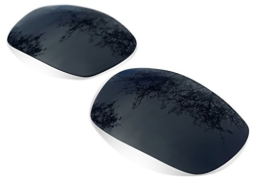 sunglasses restorer Kompatibel Ersatzgläser für Oakley Split Jacket, Black Iridium Polarized