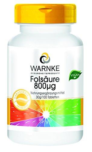 Warnke produits de santé folate ...