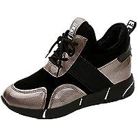 les formateurs occasionnels des chaussures de sport, mode tennis plat marche randonnée fond plat tennis respirants épaisses semelles des chaussures ronde taille de chaussures à enfiler 2.5-7.5 451bca