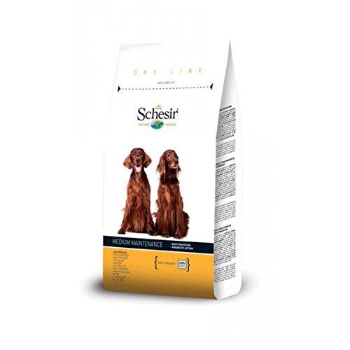 Schesir - Dry Line Medium Mantenimento con Pollo Sacco 12,00 kg