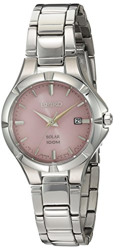 Seiko Women's Japanese Quartz Stainless Steel Watch, Color Silver-Toned (Model: SUT315)
