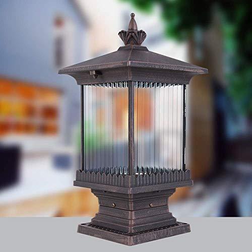 Deco Cfl (Zhong$chuang Säule Lampe wasserdicht Landschaft LED Licht Post Licht für Outdoor-Garten Park Patio Gate Deco)
