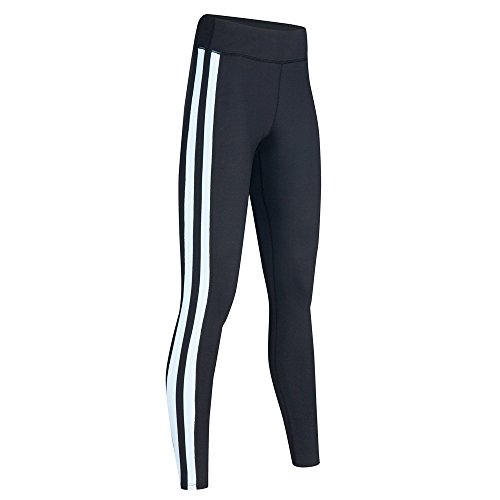SILIK Pantalons Deportivos de Empalme con Bolsillo de Cintura Alta Pantalones de Yoga de Tela de Malla Elásticos para Mujer