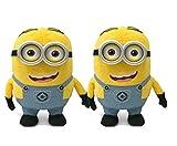 Tickles Yellow Minion (Set Of 2) Stuffed Soft Plush Toy 10 cm
