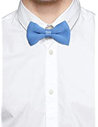 Tossido Knitted Blue Subtle Bow Necktie (TBNK14)