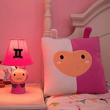 bobo gemini lampada da tavolo comodino cartone animato, carino stoffa (Gemini Tavolo)