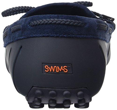 Swims Lace Loafer Woven Herren Mokassin Blau (Navy Fade 323)