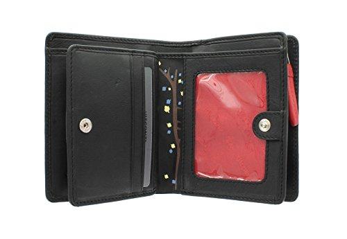 Visconti Gufo Collection borsa in pelle ZAPPATORE OL70 nero nero