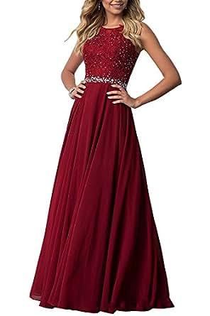 Beyonddress Damen Abendkleider mit Applikationen Elegant ...