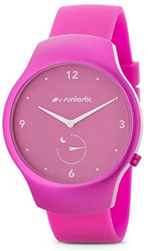 Runtastic Moment FUN Uhr & Aktivitätstracker (mit Silikonband) Raspbery Pink