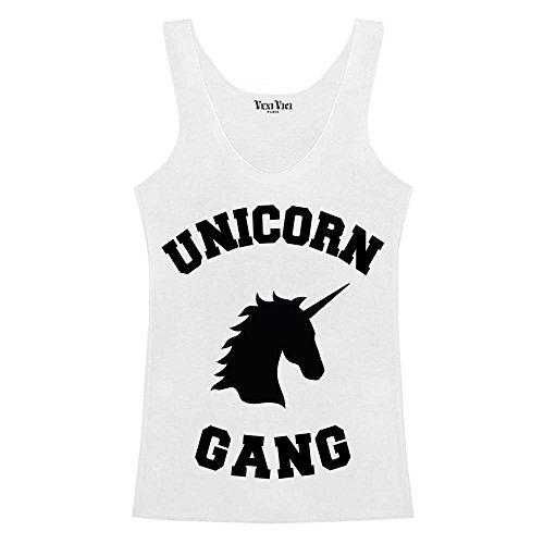 Veni Vici Unicorn Gang Blanc