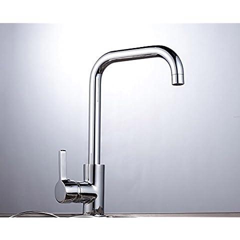 ODJG Il rubinetto in ottone rubinetto di cucina acqua fredda