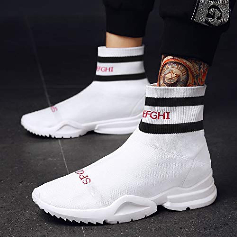 NANXIEHO Uomini che volano tessere calze piatte Scarpe da uomo Moda per il tempo libero Scarpe Scarpe da ricamo   Più pratico    Scolaro/Ragazze Scarpa