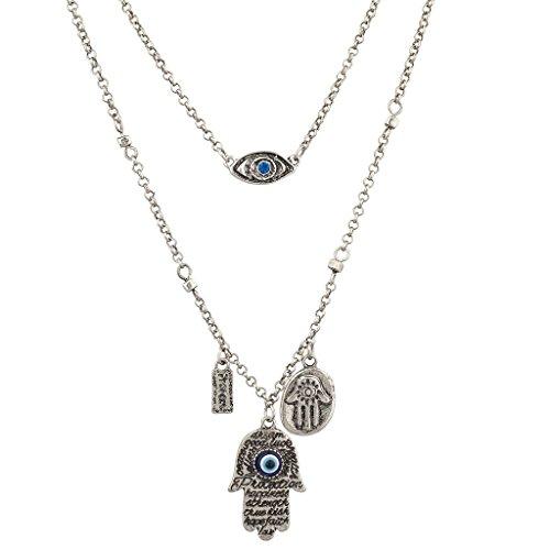 lux-accessories-boho-burnish-silver-many-hamsa-evil-eye-charm-layered-necklace