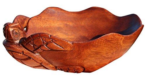 Schöne Schildi Holzschale Deko Holz Schale Schildkröte Handarbeit Bali Schale01S