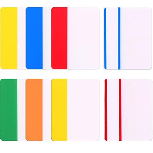 2 Zoll Index Etikett Band Flagge Spender Klebstoff Seite Makers Haftnotizen für Ordner, Notizbücher, Bücher und Ordner als Büro und Schulbedarf, 160 Stücke Etikett