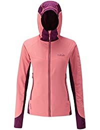 Rab Alpha Flux Jacket - Women's Coral/Berry/Berry Large