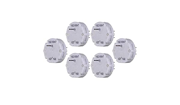 Semoic 6Pcs X27 168 Stepper Motor Cluster Speedometer Tachometer Fuel Gauge Repair Kit
