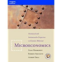 Microeconomics: Neoclassical and Institutional Perspectives on Economic Behaviour