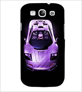 PrintDhaba Car D-4393 Back Case Cover for SAMSUNG GALAXY S3 (Multi-Coloured)