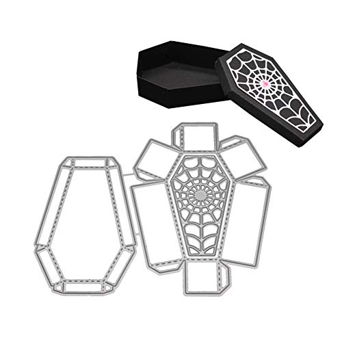 XuBa Halloween Stanzformen Schablone Metall Form Vorlage für DIY Scrapbook Album Papier Karte 2018
