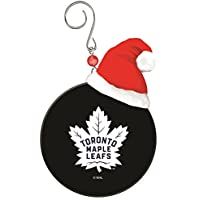 Team Sports America Toronto Maple Leafs Team Puck Ornament by Team Sports America