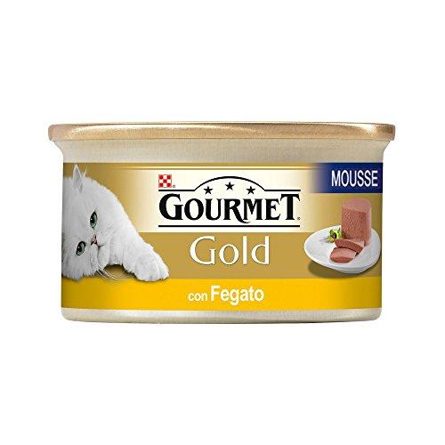GOURMET GOLD Mousse de hÍgado con húmedo gr gato 85 - Comida mojado
