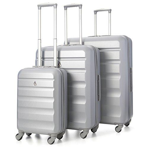 Aerolite-Maleta-plata-Plateado-ABS325-Silver-3-PCS-Vendor
